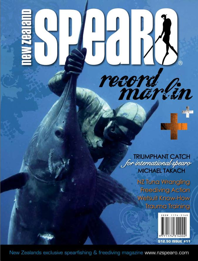 Michael Takach NZ Spearo Cover Shot