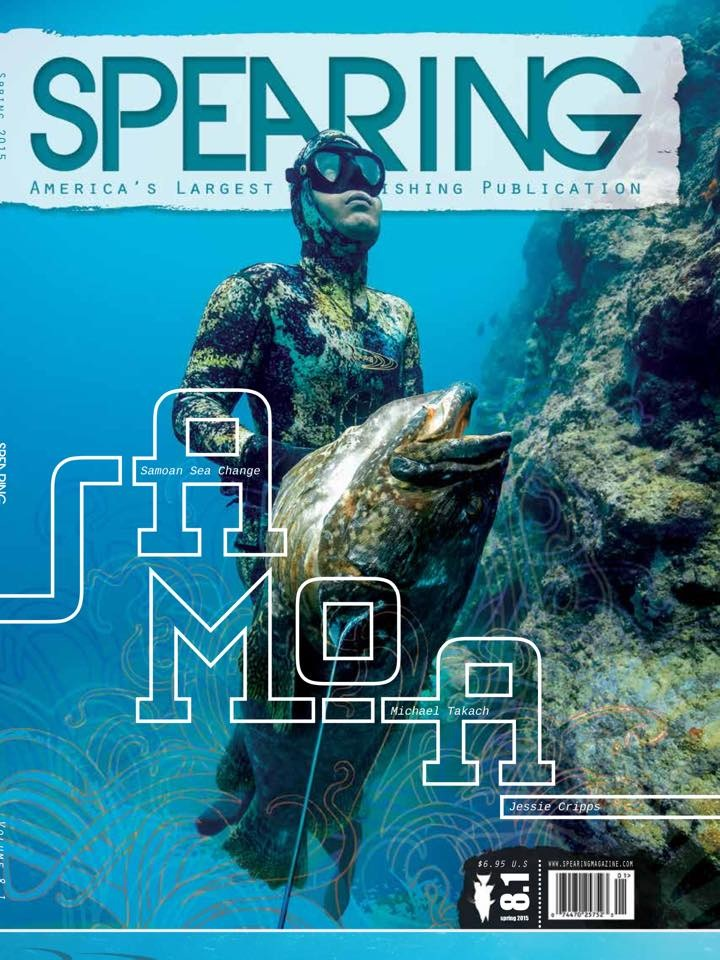 Michael Takach Spearing Magazine Cover Shot